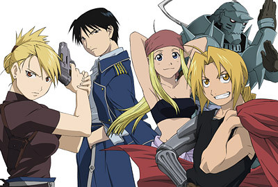 Jumping in Pools: Fullmetal Alchemist Review (Anime)