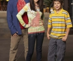 "WIZARDS OF WAVERLY PLACE - David Henrie stars as ""Justin,"" Selena Gomez as ""Alex"" and Jake T. Austin as ""Max"" in ""Wizards of Waverly Place"" on Disney Channel. (DISNEY CHANNEL/CRAIG SJODIN)"